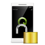 How to revert your Smartphone encryption, credit: image based on Oxygen Icons