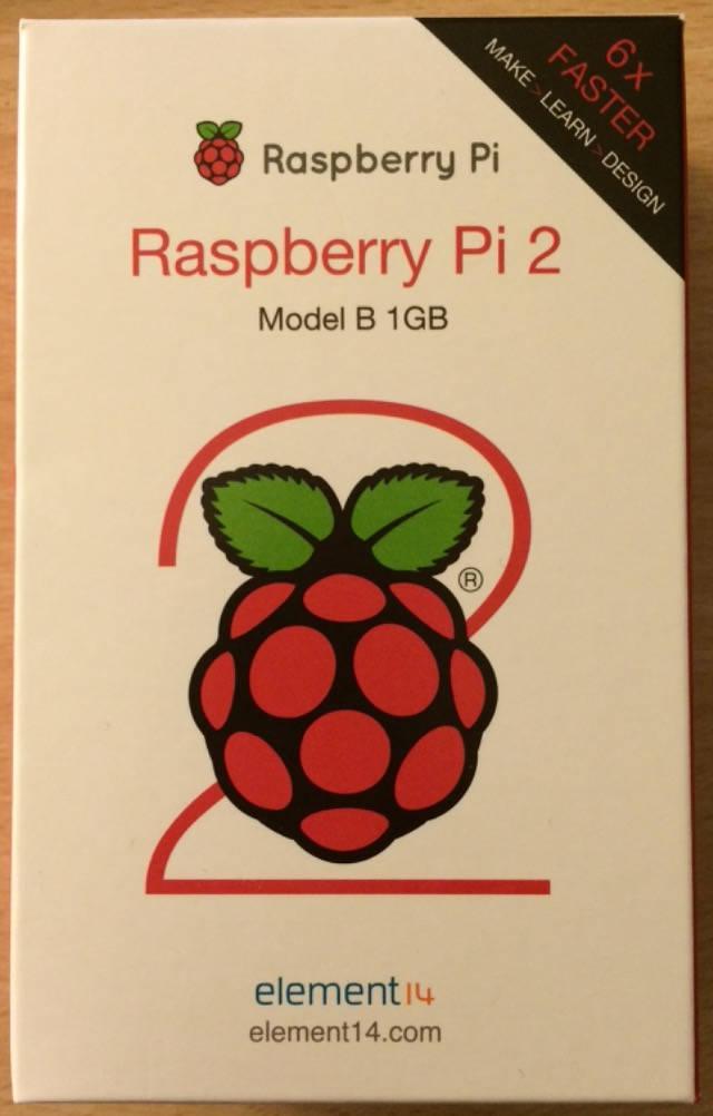 Raspberry Pi 2 box with Logo (a raspberry)